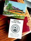 1930'S/40S SOUTHERN PACIFIC LINES PICTORIAL SOUVENIR PLAYING CARDS SEALED STAMP