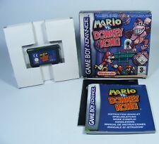 MARIO VS DONKEY KONG für Nintendo GBA GameBoy Advance Modul komplett OVP Spiel