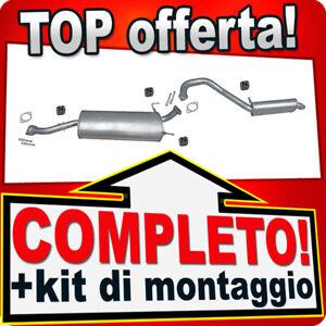 Scarico Completo per KIA SORENTO I (JC) 2.4 3.5 V6 Marmitta