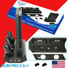 PS4 Slim Pro Vertical Stand Cooling Fan Charging Dock Port Controller Charger US
