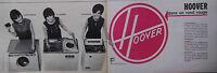 PUBLICITÉ DE PRESSE 1964 HOOVER DANS UN ROND ROUGE MACHINE A LAVER - ADVERTISING