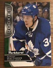 2016-17 Parkhurst Rookies #370 Auston Matthews RC Toronto Maple Leafs
