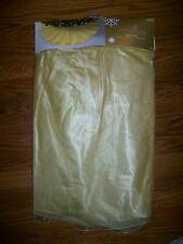 "Jaclyn Smith Christmas Tree Skirt Winter Wishes Gold 48"" Nwt"