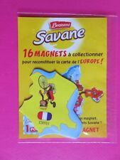 Magnet - Savane Brossard - Carte de l'Europe - La France