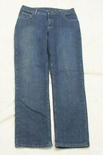 "Lee Riders Blue Jeans Pants Solid Denim Zipper Fly Fourteen 14 - 34"" x 32"" J22"