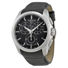 Relojes de pulsera Tissot cuero cronógrafo