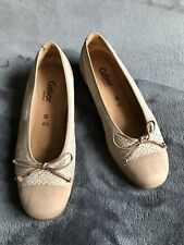 Gabor flat shoes size 4.5 pale pink