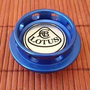 BLUE Aluminum Oil Cap for Lotus Elise Exige Evora w/ 2GR-FE, 2ZZ-GE engine