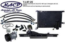 1987 Jeep Wrangler YJ AC Kit 2.5L Engine