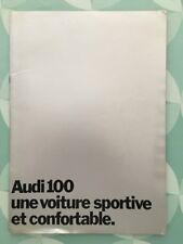 Brochure AUDI 100 LS de Janv 1971 Prospekt French 24 pages