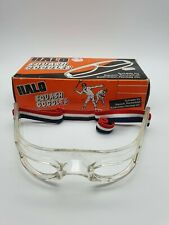 Vintage HALO Squash Goggles - Suitable for Squash, Badminton, Hockey, Racketball