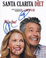 Santa Clarita Diet In-Person AUTHENTIC Autographed cast Photo COA SHA #24297