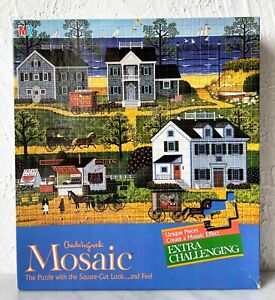 Charles Wysocki Gull's Nest Extra Challenging Mosaic Jigsaw Puzzle NEW