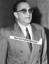 VITO DON VITO GENOVESE CRIME FAMILY PHOTO 8x10 B&W GLOSSY REPRINT MAFIA WALL ART