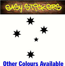 300mm Southern Cross Aussie Car Ute Sticker - Any Colour!