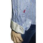 Chemise rayée bleu et blanc I.CODE by IKKS femme