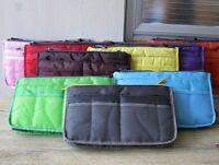 Travel Insert Handbag Purse Organizer Double Liner Bag Organiser Pouch US Seller