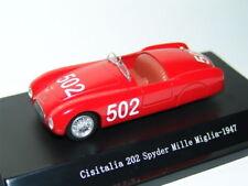 CISITALIA 202 SPYDER MILLE MIGLIA RED 502 1:43 STARLINE