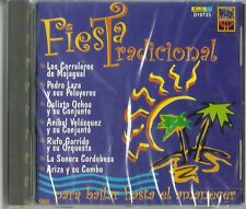 Fiesta Tradicional Para Bailar Hasta El Amanecer Latin Music CD New