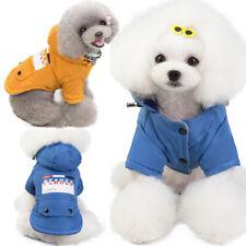 Pet Cat Dog Clothes Winter Warm Padded Coat Vest Jacket Costume Apparel Cotton