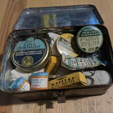 More details for vintage tin lunch box first aid supplies rushden northants
