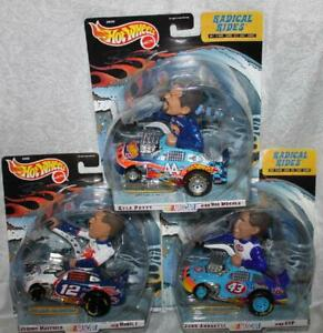 Radical Rides  *MAYFIELD~KYLE PETTY~ANDRETTI*  NIP  Hot Wheels