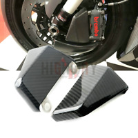 108mm Carbon Fiber Brake Cooling Air Ducts Channel For Yamaha YZF-R1 04-19