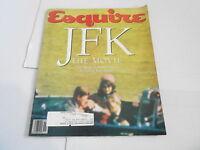 NOV 1991 ESQUIRE mens fashion magazine JFK THE MOVIE