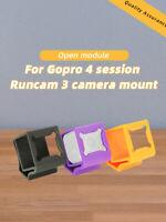TPU 3D Print Camera Mount for Gopro 4 Session Runcam 3 FPV Camera DIY RC Drone