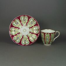 19th Century Samuel Alcock Tea Cup And Saucer English Porcelain Circa 1845