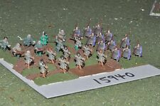 15mm roman era / roman - late auxiliaries part painted 28 figs - inf (15940)