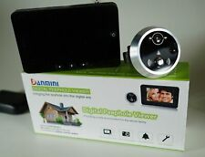 Digitaler Türspion HD Danmini Digital Peehole Viewer Motion Detection Nightview