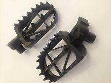 KTM 125 250 300 400 426 450 525 1998-2015 HIGH DRC WIDE FOOT PEGS RESTS HIGH
