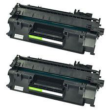 2 PK CE505X 05X High Yield Black Toner Cartridge for HP LaserJet P2055d P2055dn