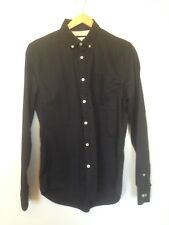 RIVER ISLAND MEN'S BLACK FORMAL LONG SLEEVE SHIRT SIZE SMALL - BNWOT