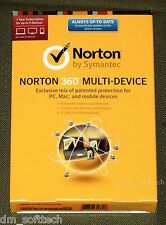 (NIB) Norton 360 Multi-Device 5PC, Mac, Android, iOS, 1Year (w/25Gb backup)