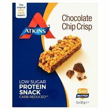 Atkins Chocolate Chip Crisp Bars 5 X 30G