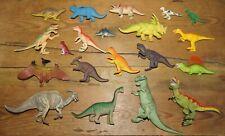 Bundle of 20 Plastic Toy Dinosaur Figures inc Tyrannosaurus Rex