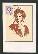 Italia MK 1979 Foscolo poète Writer poète maximum CARTE MAXIMUM CARD MC cm d2205