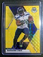 Marshawn  Lynch 2020 Panini Mosaic  GOLD 08/20 Prizm   The Beast