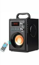 TAMPROAD Portable Bluetooth Speaker 20W Subwoofer Heavy Bass Wireless Speaker FM