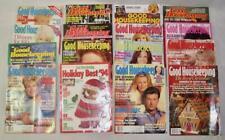 16 Good Housekeeping Magazines 1988 To 2019 Vintage To Present Home Decor (O2)