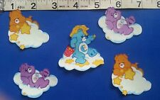 CARE BEARS GLOW-IN-DARK #2 - IRON ON FABRIC APPLIQUÉS IRON ONS - PATCHES