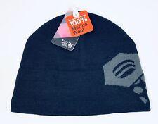 Mountain Hardwear Caelum Dome Merino Wool Beanie Hat Winter Black Mens Regular