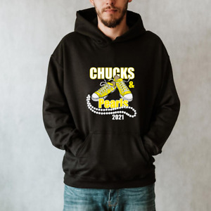 Chucks And Pearls Hoodie, 2021 Inauguration Hoodie Unisex Size S-3XL HOT TREND!