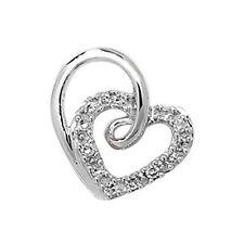 SI2 Echte Diamanten-Halsketten & -Anhänger mit Herz