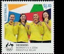 Australia MNH MUH - 2021 Tokyo 2020 Olympic Gold Medallist Womens FreestyleRelay