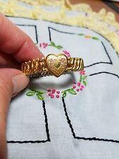 Vintage Child's American Queen Pitman & Keeler Gold Filled Bracelet, small