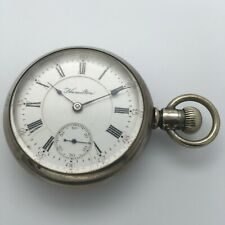 RARE Antique 1895 Early Hamilton 935 18s 17J Swing-out case - Low Serial Number
