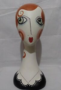 Boutique Mannequin Display Retail Decor Handmade Hand-Painted Vintage Heavy